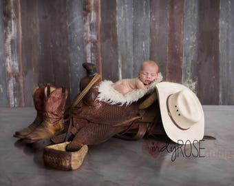 Little Cowboy digital backdrop