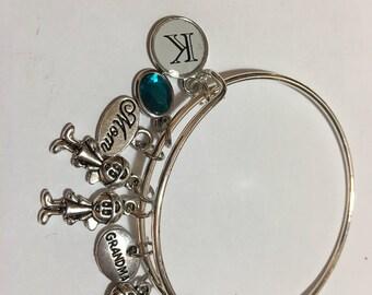 Grandma / mom charm bracelet