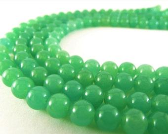 8 mm jade beads 8 mm green jade beads green jade stones round green jade round jade beads loose jade beads gemstone jade beads green beads