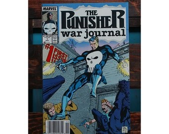 The Punisher War Journal Number 1 1988