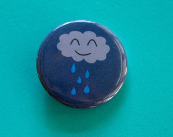 Rainy Day Cutie 1.25 in Button
