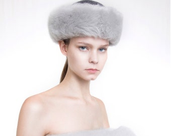 SHIRRING FUR HAT
