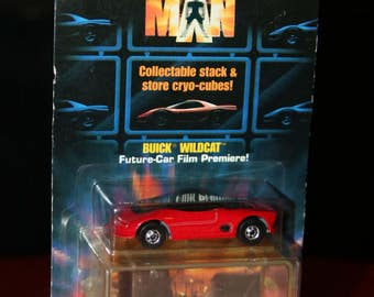 DEMOLITION MAN Vintage 1993 Buick Wildcat Diecast 1990s Hot Wheels Car Toy