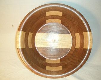 Wooden Salad Bowl #9 free shipping
