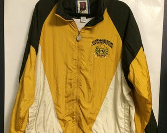 Vintage University of Missouri Tigers Windbreaker