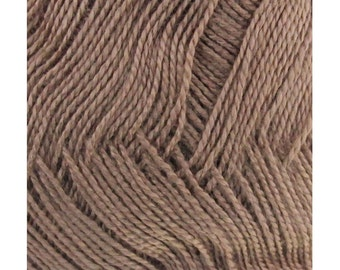 Soft Bamboo Tencel Fine Yarn - 4/08 Skeins - 25 Coffee Lover