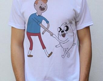 The Adventures of TinFinn T shirt