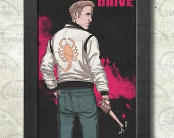 Drive Poster Print A3+ 13 x 19 in - 33 x 48 cm Ryan Gosling Buy 2 get 1 FREE