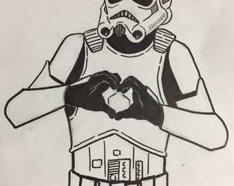 I Heart U - Stormtrooper Edition CARD ONLY