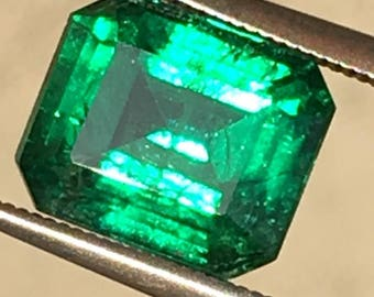 Natural Emerald GIA 3.55ct Zambia
