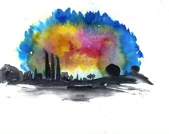 A nebula we call home - Signed Art Print -