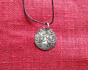 Viking age Cnut coin necklace