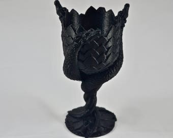 3D Printed Dragon Goblet