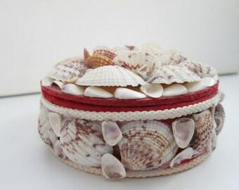 Seashell Trinket Jewelry Box | vintage jewellery box| Jewelry box
