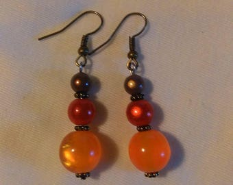 Earrings pearls