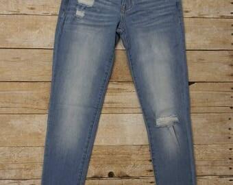 Stone Washed Denim Jeans