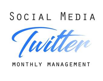 Twitter Management,Twitter monthly management, Social Media Help, Etsy Shop Help, Marketing Help, Etsy Help, Social Media,
