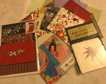 Vintage Takishimaya Sanrio Origami Paper
