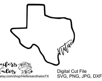 Native Texas - svg, eps, dxf, png, jpg digital cut file for cricut and silhouette