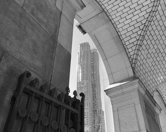 New York City - Black and White Photo around NYC - Engineering prints