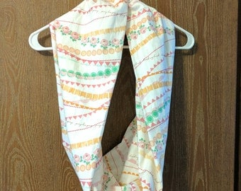 Spring Short Infinity Scarf
