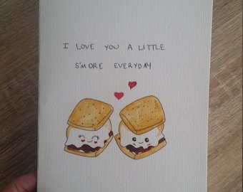 S'more valentines day card