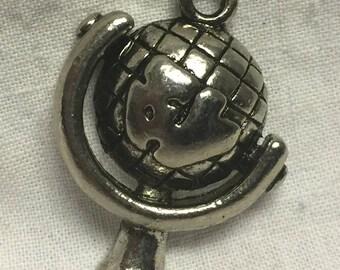 Globe Charm