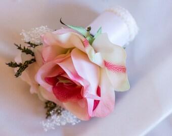 Chic Rose Mini Bouquet, Flower Girl Bouquet, Junior Bridemaids Bouquet