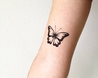 Butterfly - Temporary Tattoo