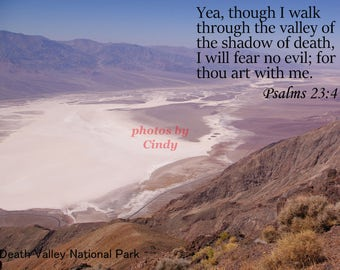 Inspirational Photograph Psalm 23