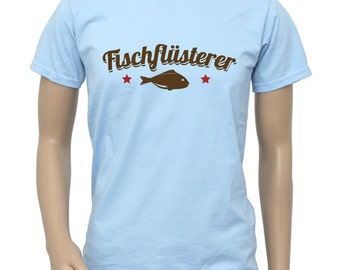 "T-Shirt ""Fish Whisperer-retro"""