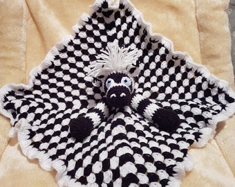 Baby zebra comforter blanket
