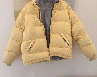Pale yellow vintage jacket