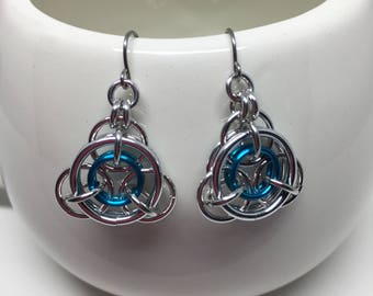 Constellation Starlight Chainmaille Earrings