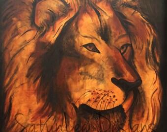 PRINT - The Lion & the Lamb (Part 1)
