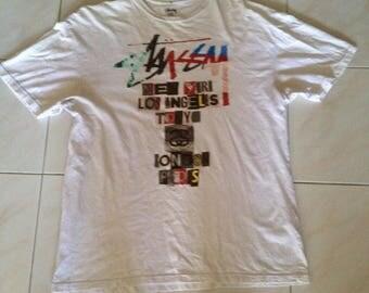 Hot sale vintage stussy tshirts