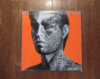 "Rolling Stones - ""Tattoo You"" Vinyl Record"