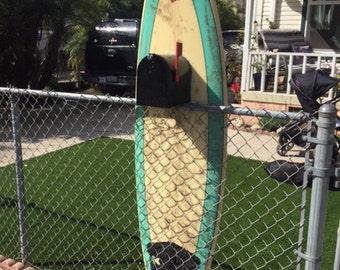 Surfboard Mailbox