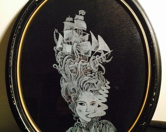 Custom etched glass