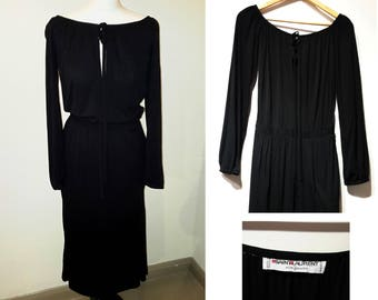 1970s Saint Laurent Rive Gauche dress size small
