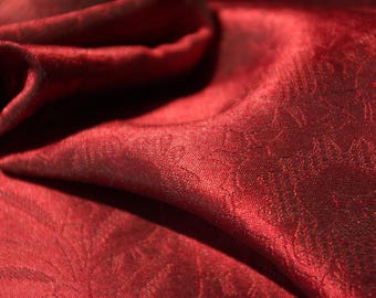 Tonal Change Woven Floral Fabric
