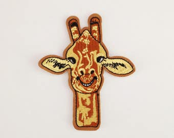 Giraffe applique patch Giraffe iron on patch