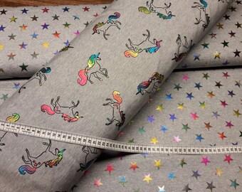 Glitter unicorns sweat Grey Heather