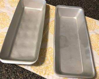 Vintage Aluminum Ice Cube Trays