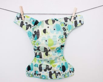 Elephant Pocket Cloth Diaper