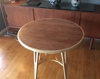 Mid Century Modern Style Cafe Table