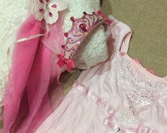 Pink Butterfly Princess