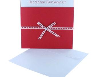 Greeting card Pocket + square card + envelope