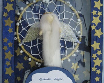 Guardian Angel Dream catcher with gift box