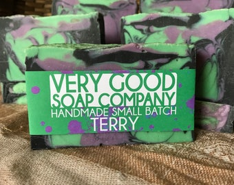 Terry - Ginger Lime Soap // Cold Process Soap // Handmade Soap // Vegan Soap